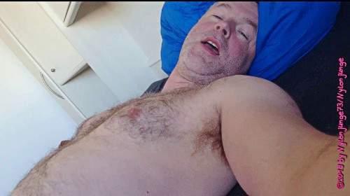 Geiles Spiel mit der Prostata am Morgen