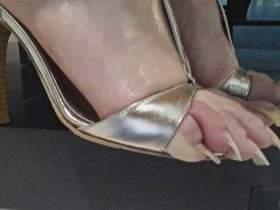 Side Heels View