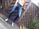 Jeans veredelt mit Ns