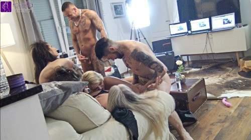 Eine Party, die in einer versauten Sex-Orgie endete! Teil 1