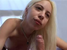 19-year-old blonde...