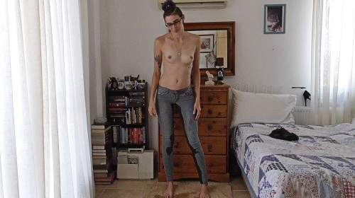 Lieblings-Jeans vollgepisst