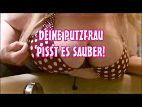 Putzfrauen pissen Sauber!