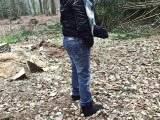 Waldspaziergang, in die Hose GESCHISSEN UND GEPISST; VIDEWUNSCH für Steven