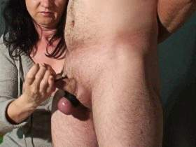 cock on the laesh ruined orgasm