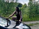 Autopinkeln - Leck meine Pisse von deinem Wagen