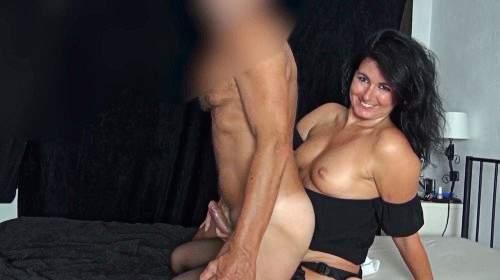 Strap on Arschfick! Literweise Sperma mit Abspritzgarantie