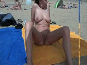 Nudist beach on Gran Canaria