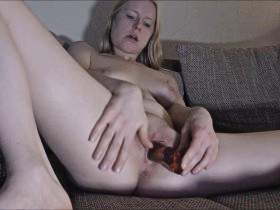 Fucked pussy to real orgasm!