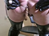 Bizarre Latex-Lady - perverse Piss & Scheiss-Bitch!!