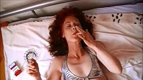 Beim ficken rauchen ...